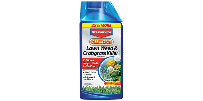 Bayer Advanced All-in-One Lawn Weed Killer