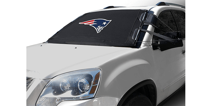 FrostGuard NFL Premium Winter Windshield Cover
