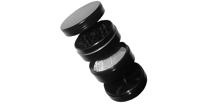 TGproducts Sleek Black Spice Grinder
