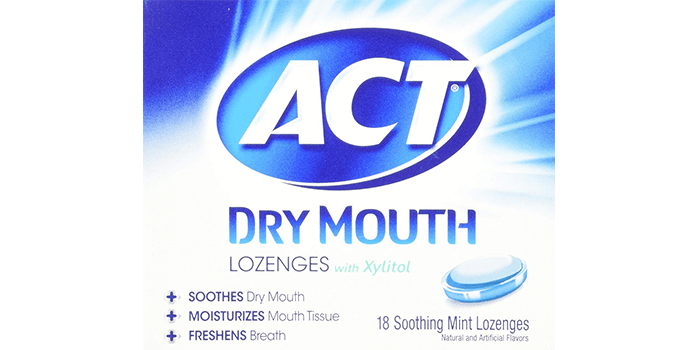 Act Dry Mouth Mint Lozenge