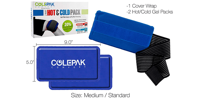 ColePak Comfort Ice Pack for Injuries