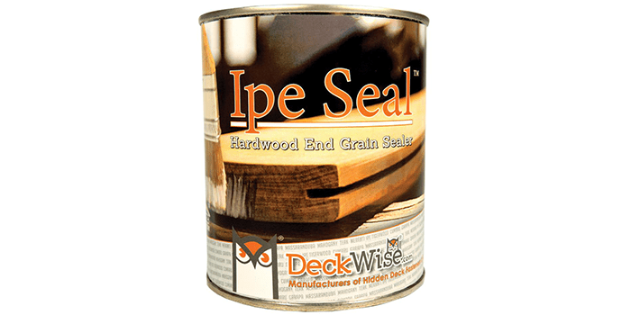 DeckWise Ipe Seal Hardwood Endgrain Sealant