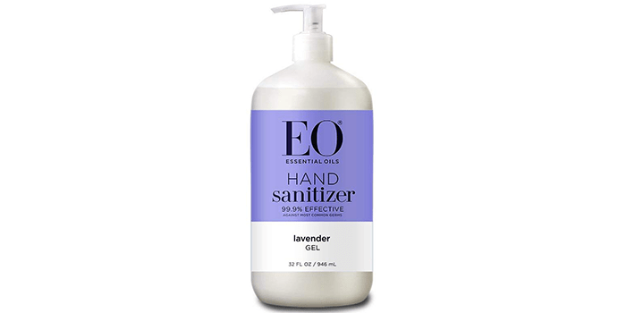 EO Botanical Hand Sanitizer Gel, Lavender