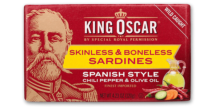 King Oscar Skinless and Boneless Sardines Spanish Style