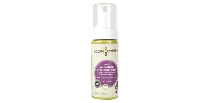 Nature Certified 100% Natural Feminine Wash