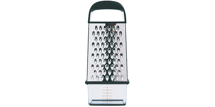 OXO Good Grips Box Grater, Silver