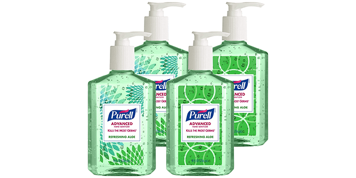 Purell Advanced Hand Sanitizer Gel Refreshing Aloe