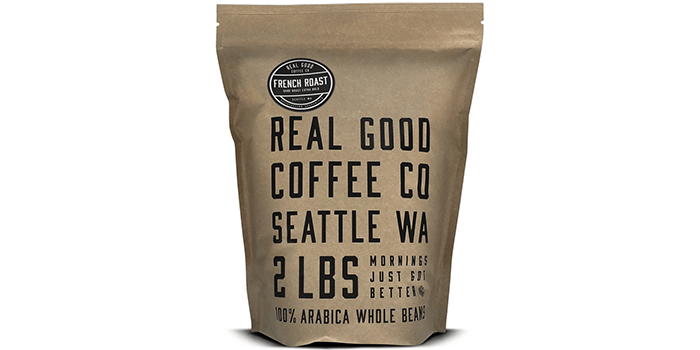 Real Good Coffee Company French Roast Dark Coffee