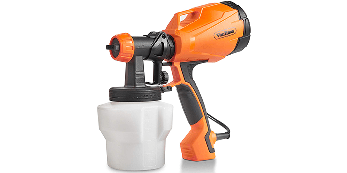 VonHaus Electric HVLP Spray Gun Paint Sprayer