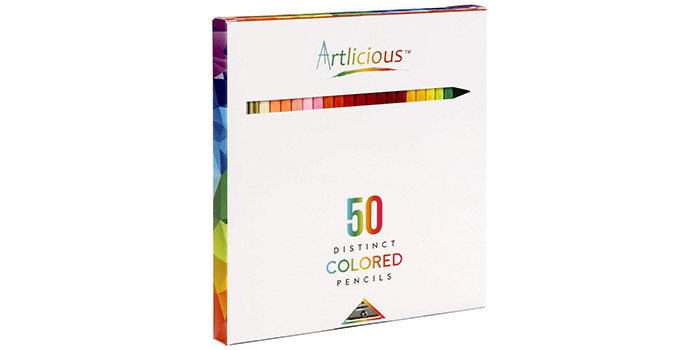 Artlicious Pencils Vibrant Colored Pencils