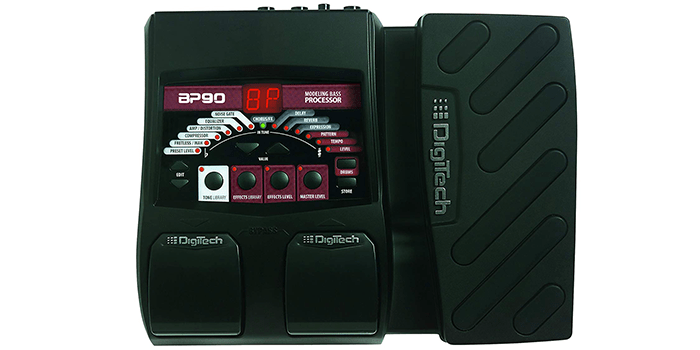DigiTech BP90 Bass Guitar Processor