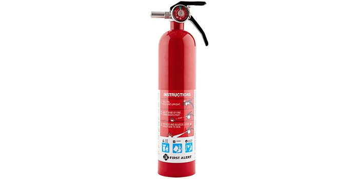 First Alert Rechargeable Fire Extinguisher