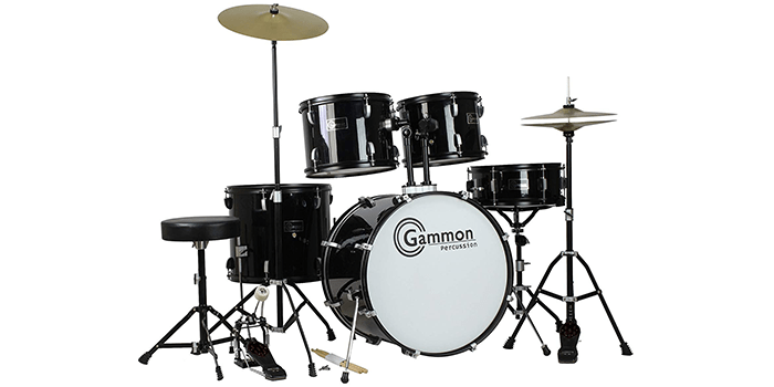 Gammon Percussion Complete Adult Drum Set
