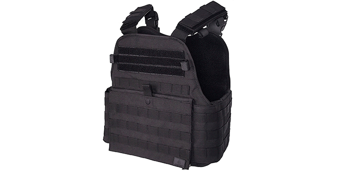 Gloryfire Adjustable Lightweight Black Tactical Vest