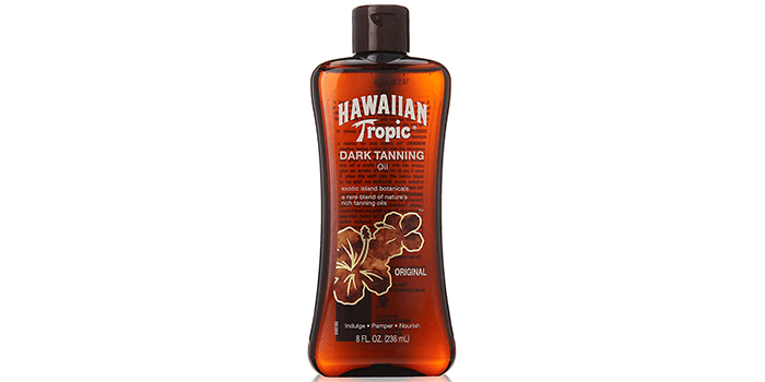 Hawaiian Tropic Dark Tanning Oil Original