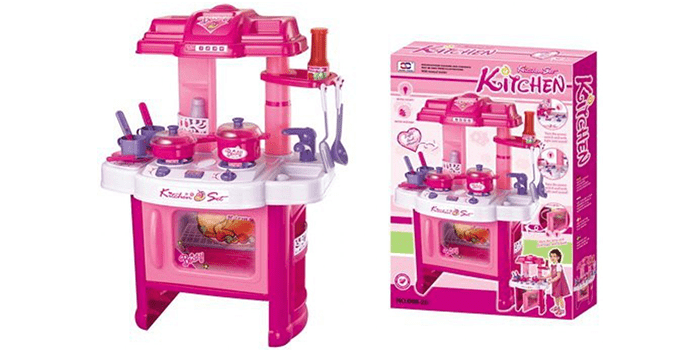 Liberty Imports Beauty Kitchen Appliance Cooking Play Set
