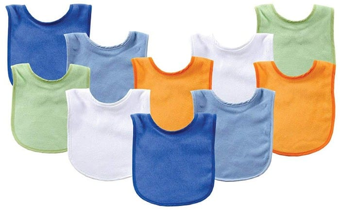 Luvable Friends Baby Bibs