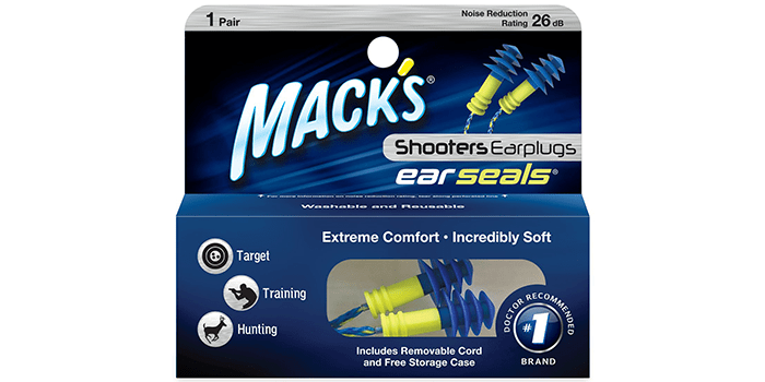 Mack's Shooters Ear Seals Ear Plugs