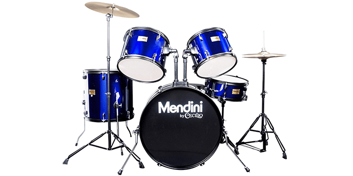 Mendini by Cecilio Complete Full-Size Adult Drum Set