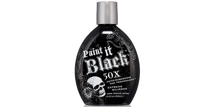 Millennium Tanning Paint It Black 50X