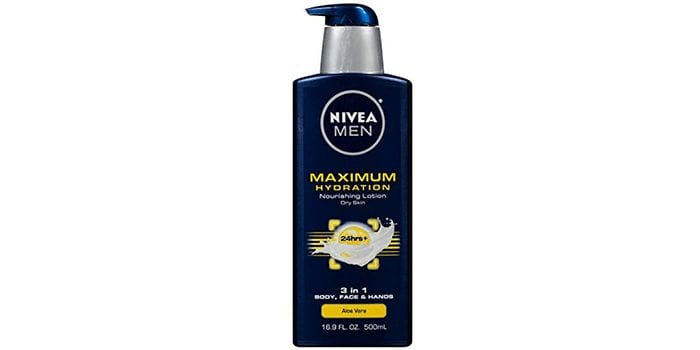 NIVEA Men Maximum Hydration 3-in-1 Nourishing Lotion
