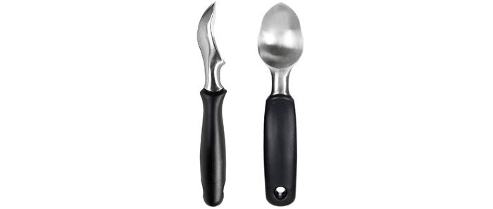 OXO Good Grips Solid Stainless Steel Ice Cream Scoop