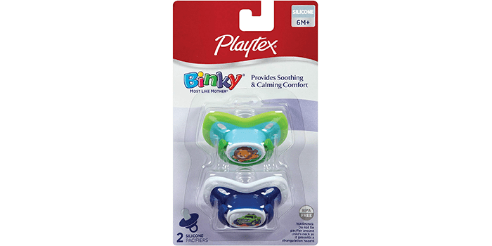 Playtex BinkySilicone New Born Pacifier
