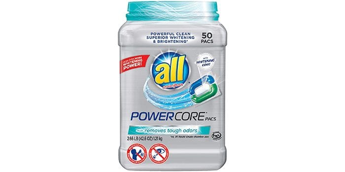 Powercore Pacs Tough Odors Remover Laundry Detergent