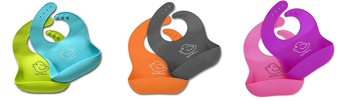 Waterproof Silicone Bib by Happy Healthy Parent