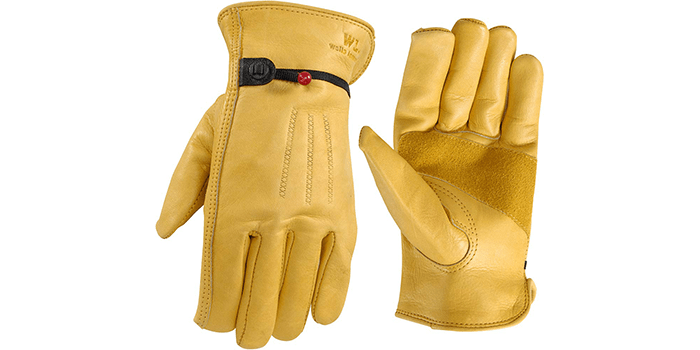 Wells Lamont Leather Work Gloves
