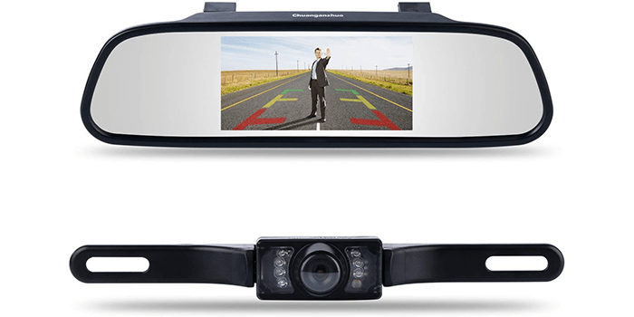 Chuanganzhuo 4 3 Car Vehicle Rearview Mirror Monitor