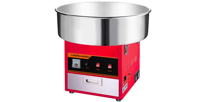 Clevr Large Commercial Cotton Candy Machine