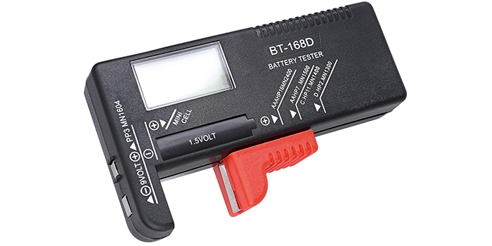 Hapurs Universal Digital Battery Tester