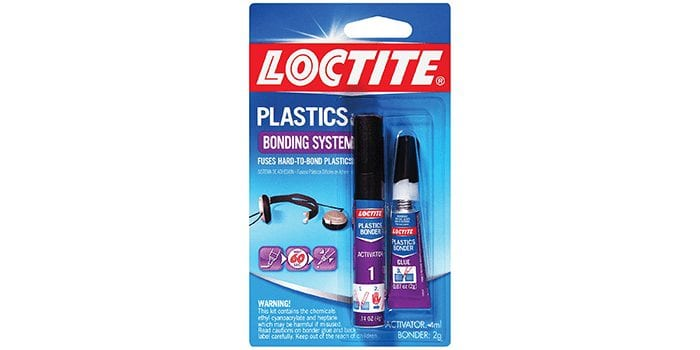 Loctite Super Glue Plastics Bonding System