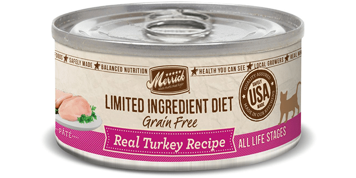 Merrick Limited Ingredient Diet Can Cat Food