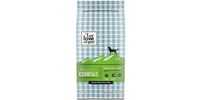 """Naked Essentials """"I and love and you"""" Grain-Free Dry Dog Food"""