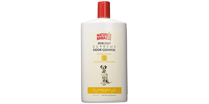 Nature's Miracle Supreme Natural Oatmeal Shampoo & Conditioner
