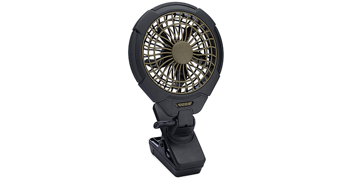 O2COOL 5-Inch Battery Operated Clip Fan
