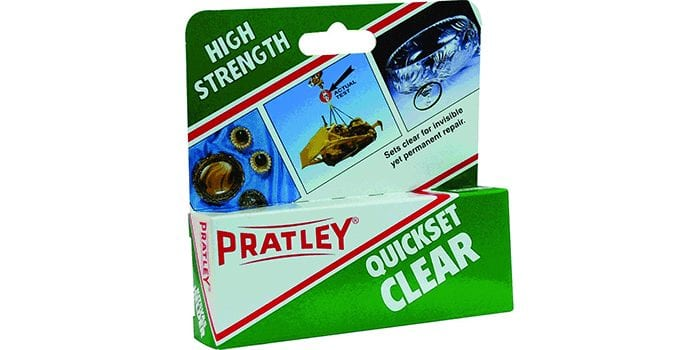 Pratley Epoxy Glue
