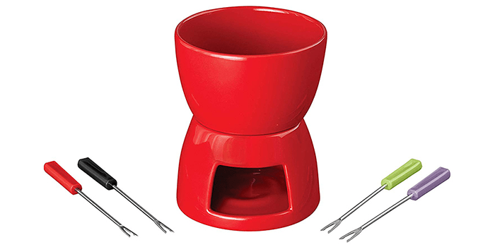 Wilton Ceramic Fondue Set