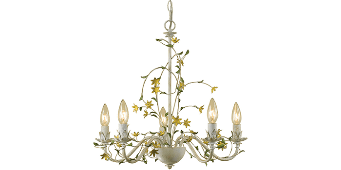 AF Lighting Grace Star Flower Chandelier