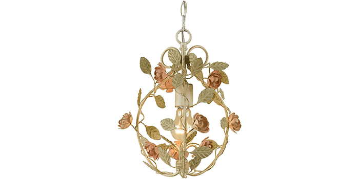 AF Lighting Ramblin' Rose Chandelier