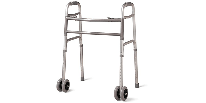 Bariatric Heavy-Duty Folding Walker