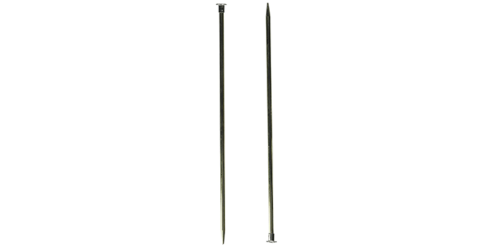 Boye 10-Inch Aluminum Single Point Knitting Needles