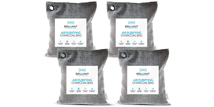 Brilliant Evolution Bamboo Charcoal Air Purifying Bag