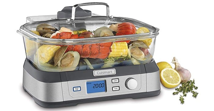 Cuisinart STM-1000 Digital Glass Steamer