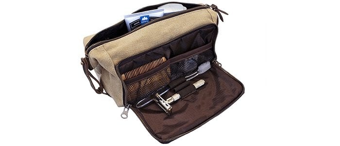 DOPP Kit Mens Toiletry Travel Bag