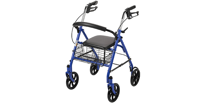 Drive Medical Four Wheel Walker