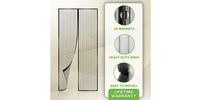 Flux Phenom Reinforced Magnetic Screen Door