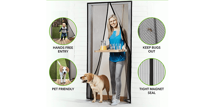 Homitt Magnetic Screen Door